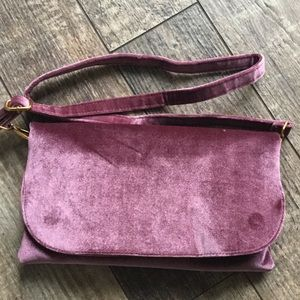 👛2/$25 Street Level Velvet Crossbody HOST PICK!👛
